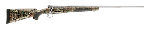 Winchester Model 70 Ultimate Shadow Hunter Rifle 535209228, 30-06 Springfield, 24 in BBL, Bolt-Action, MOBI Camo Syn Stock, Stainless Finish, 5 Rds