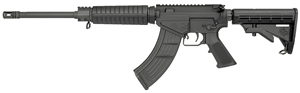 Rock River Arms LAR-47 CAR A4 Rifle AK1263, 7.62mmX39mm, 16 in Chrome-Lined HBAR BBL, Semi-Auto, Blk 6-Pos Collapsible Stock, Blk Finish, 30+1 Rds