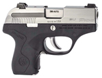 Beretta PICO Pistol JMP8D25, 380 ACP, 2.7 in BBL, Integral Grip, Black Finish, 6+1