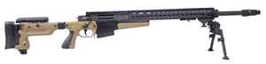 Accuracy International AX Sniper Rifle AX308, 308 Win, Bolt-Action, 20 in Fluted Muzzle Break BBL, Blue Finish, 10 Rd