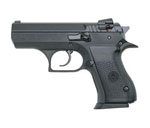 Magnum Research Baby Eagle II Pistol BE9900RB, 9 mm, 3.64 in Compact, Steel Frame, Black Oxide Finish, 10 + 1 Rd, Rail