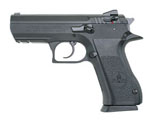 Magnum Research Baby Eagle II Pistol BE9900RS, 9 mm, 3.93 in Semi-Compact, Steel Frame, Black Oxide Finish, 10 + 1 Rd, Rail