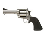 "Magnum Research BFR Revolver BFR44MAG5, 44 Remington Magnum, 5"" Short Barrel, Single Action, Rubber Grips, Stainless Steel Finish, 5 Rds"