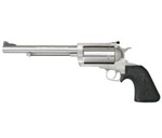 "Magnum Research BFR Revolver BFR45LC/410, 45 Long Colt/410, 7.5"" Long Barrel, Single Action, Rubber Grips, Stainless Steel Finish, 5 Rds"
