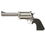 "Magnum Research BFR Revolver BFR45LC/4105, 45 Long Colt/410, 5.25"" Long Barrel, Single Action, Rubber Grips, Stainless Steel Finish, 5 Rds"