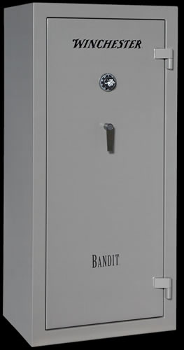 Winchester Bandit 19 Gun Safe B6028F19910E, Elec Lock, Gray Finish, Free Shipping w/Curbside Delivery, 7-10 Day Lead time