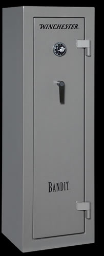 Winchester Bandit 10 Gun Safe B6018F11010M, Mech Lock, Gray Finish, Free Shipping w/Curbside Delivery, 7-10 Day Lead time