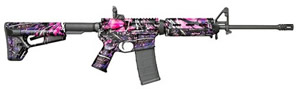 Colt MOE Tactical Muddy Girl Carbine LT6720MPMG, 223 Rem/5.56 Nato, 16.1 in BBL, Semi-Auto, Adj Stock, Muddy Girl Pink Camo, 30+1 Rds, Talo Exclusive