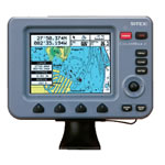 SI-TEX ColorMax Chartplotter, 6 in LCD Display