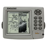 Eagle Fishelite 480 Single Frequency Fishfinder / Chartplotter Combo - External Antenna, 5 in Display