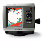 Garmin Fishfinder 400c - Dual Beam - Transom Mount, 4 in QVGA Display, 010-00510-01