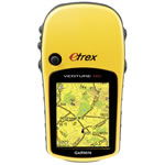 Garmin eTrex Venture HC HandHeld GPS w/ High Sensitivity GPS