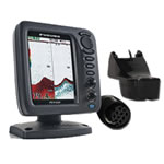 Furuno FCV620 Package w/ Transom Mount Tri-Ducer, 5.6 in LCD Display, FCV620-PWD
