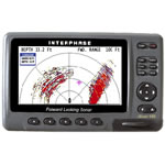 Interphase iScan V180SE w/ 2 Thru-Hull Transducers, 7.0 in Display, U1-0200-180
