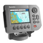 Raymarine A50 Compact Chartplotter - U.S. Coastal Preloaded, 5 in VGA Display