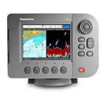 Raymarine A57D HD Digital Fishfinder / Chartplotter Combo - U.S. Inland Lakes & Rivers Preloaded, High Resolution 5.7 in VGA Display
