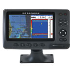Interphase Chart Master Pro Combo - Internal Antenna,  7 in Wide Sunlight Viewable Color Display