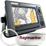 Raymarine C90W System Pack - C90W 9 in Display, RD418D, 10M Cable