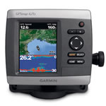 Garmin GPSMAP 421S GPS Chartplotter/Fishfinder Combo w/o Transducer, Ultra-Bright 4 in Diagonal QVGA Display