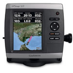 Garmin GPSMAP 521, GPS Compact Chartplotter, 5 in Ultra-Bright QVGA Display