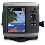 Garmin GPSMAP 521S GPS Chartplotter/Fishfinder w/o Transducer, Ultra-Bright 5 in Diagonal QVGA Display