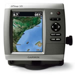 Garmin GPSMAP 526, GPS Compact Chartplotter, Hi-Res 5 in Super-Bright VGA Display