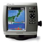 Garmin GPSMAP 526S Dual Frequency Chartplotter/Fishfinder Combo, 5 in diagonal VGA display
