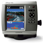 Garmin GPSMAP 536S Dual Beam Chartplotter/Fishfinder Combo, 5 in diagonal VGA display