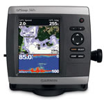Garmin GPSMAP 541S Dual Frequency Chartplotter/Fishfinder Combo, Ultra-Bright 5 in Diagonal QVGA Display