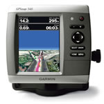 Garmin GPSMAP 546, GPS Compact Chartplotter, Hi-Res 5 in Super-Bright VGA Display