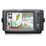 Humminbird 958C  Fishfinder / Chartplotter Combo, 8 in TFT LCD Display