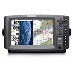 Humminbird 998C SI  Fishfinder / Chartplotter Combo, 8 in TFT LCD Display