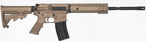Diamondback DB15FDE Tactical Rifle DB-15 FDE, 223 Rem/5.56 Nato, Semi-Auto, 16 in Chrome-Moly Barrel, Adjustable Stock, Flat Dark Earth Finish, No Sights, 30+1 Rds