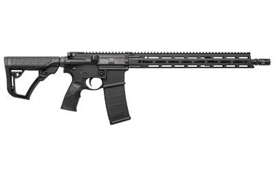 "Daniel Defense DDM4 V7 Mid-Length LW Carbine 02-128-02241-047, 223 Rem/5.56, 16"" Lightweight BBL, Semi-Auto, 15"" DD MFR XS Rail, DD Adj Stock, Black Finish, 32 Rds"