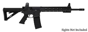 Daniel Defense Model DDV7 Rifle DA20010NS, 5.56 NATO, 16 in, Magpul MOE Stock, Blk Finish, Flat Top, 30 Rd, Hamm Forged, MFR Rail