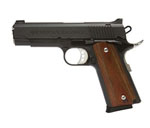 "Magnum Research Desert Eagle 1911 ""C"" Model Pistol DE1911C, 45 ACP, 4.33"" Barrel, Wood Grips, Matte Black Finish, 7 + 1 Rd"