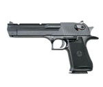 "Magnum Research Desert Eagle Mark XIX Pistol DE44CA, 44 Magnum, 6"" Barrel, Semi-Auto, Single Action, Formed Grips, Black Oxide Finish, 8 + 1 Rd, CA Approved"