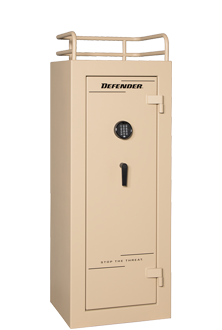 Winchester Defender 17 Gun Safe 6024175E, Elec Lock, Desert Tan Finish, Free Shipping w/Curbside Delivery, 7-10 Day Lead time