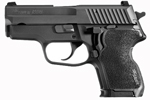 "Sig Sauer P224 Nitron Pistol 224-357-BSS, Carry, 357 Sig, 3.5"" Barrel, DA/SA, Hogue Custom G10 Grips, Nitron Slide/Black Hard Anodized Frame Finish, 10 + 1 Rd"