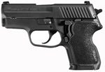 "Sig Sauer P224 SAS Pistol E24-9-SAS2B, Carry, 9 mm, 3.5"" Barrel, SRT DA/SA, Black Polymer Grips, Nitron Slide/Black Hard Anodized Frame Finish, 12 + 1 Rd"