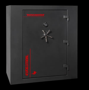 Winchester Evolution 55 Gun Safe E5938369E, Elec Lock, Black Finish, Free Shipping w/Curbside Delivery, 7-10 Day Lead time