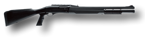 FN Herstal SLP Mark I Tactical Shotgun 3088929150, 12 Gauge, 22 in, Pistol Grip Stock, Black Finish