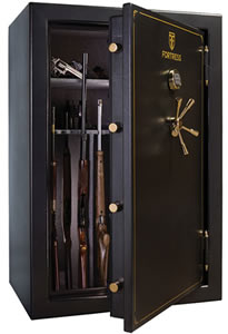 Heritage Fortress FS60S Gun Safe, Free Shipping to Curb, 60-Gun Capacity, 40W x 60H x 28D, 880 Lbs, Electronic Lock, Marble Gray