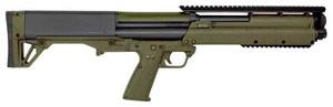 Kel Tec KSG Shotgun KSGGRN, 12 GA, 18.5 in, Pump Action, Green Synthetic Finish, 14+1 Rd