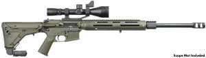 JP Enterprises JP-15 Custom Tactical Rifle, .223/.204 Ruger/6.5 Grendel, Semi-Auto, Optional BBL, Black Telfon Finish, 30 Rd