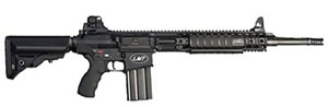 LMT 308 Modular Weapon System LM308MWSE, 308 Win, 16 in Chrome Lined BBL 1X10 Twist, 2 Stage Trigger, Collapsible Sopmod Stock, Blk Finish, 20+1 Rds, Estimated Lead Time 4-8 Weeks