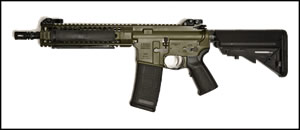 LWRC M6A2 Special Teams Gas Piston Rifle M6A2R5ODG16, 5.56 NATO, 16.1 in BBL, SOPMOD Stock, LWRC Folding BUIS Sights, OD Green, 30 Rd, In Stock Ready to Ship