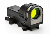 Meprolight M21 Reflex Sight M21B, 1x, 30mm, Matte Black, Bullseye Reticle, Quick Release Mount