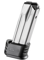 Springfield XDM50192 XDM Compact High Cap Magazine, 9mm, 19 Rd, Black, Sleeve #2