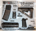 MDI Magpul MOE Rifle Kit, Commercial-Spec AR, Black Carbon Fiber Finish MDIMAGMIL02CF